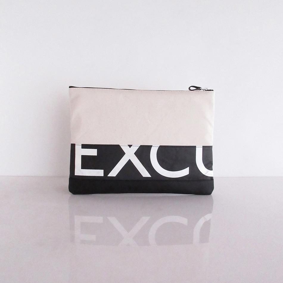 Clutch Bag / White  CLW-0015