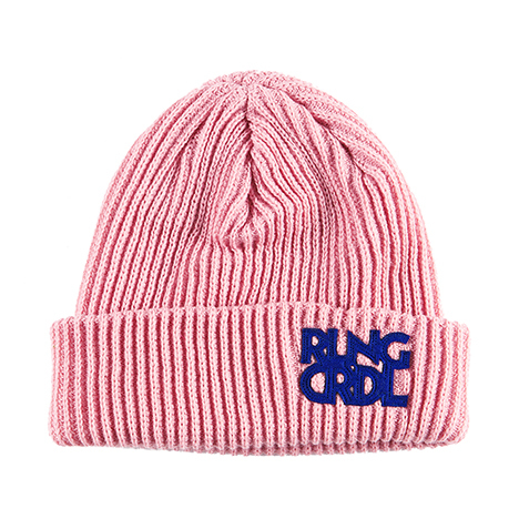 ROLLING CRADLE(ロリクレ) | RLNGCRDL KNIT CAP / Pink