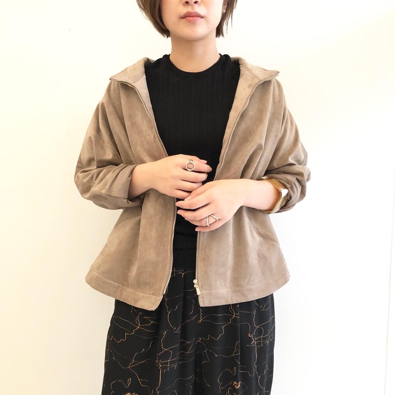 【 Days 】- 129-2718 -スエードミリタリージャケット