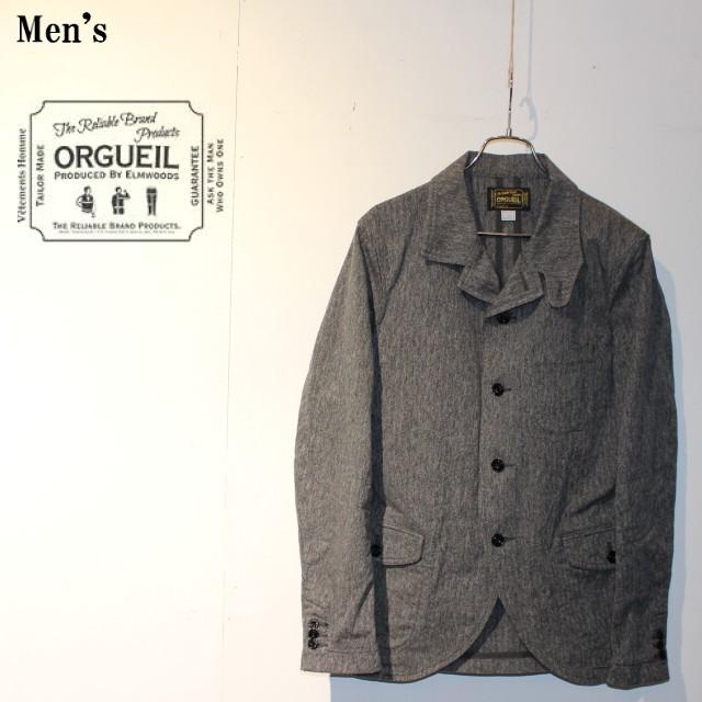 ORGUEIL サックジャケット Sack Jacket  OR-4071 (GRAY)
