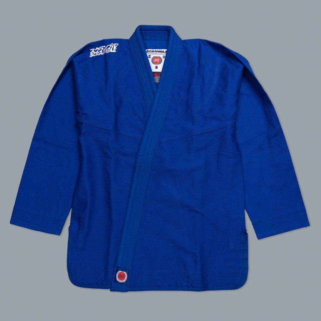 SCRAMBLE ATHLITE ブルー ブラジリアン柔術衣