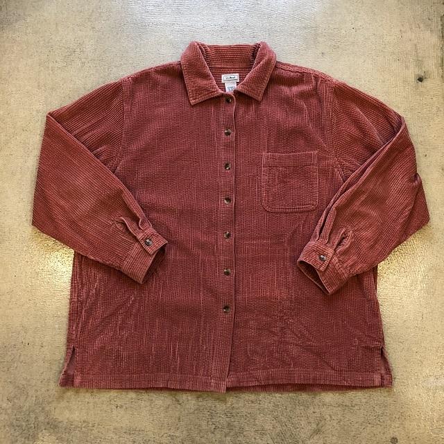 LLbean Corduroy Shirt #03
