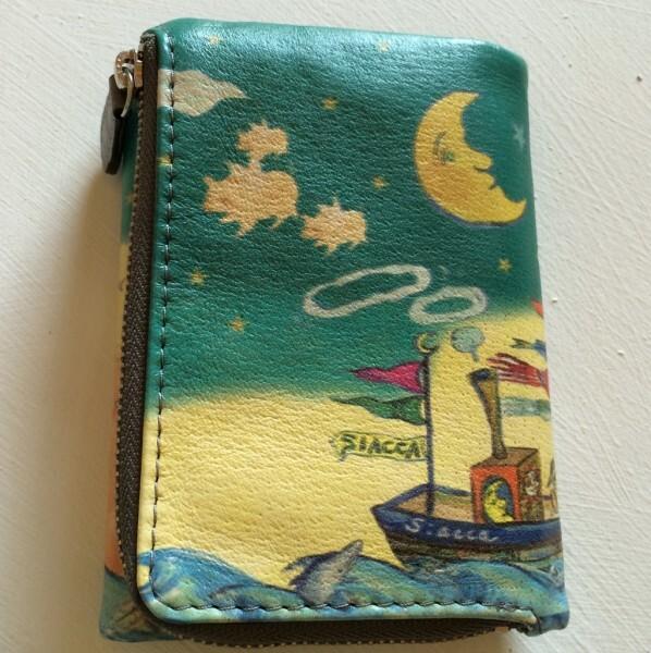 財布小(太陽と月と漁師)