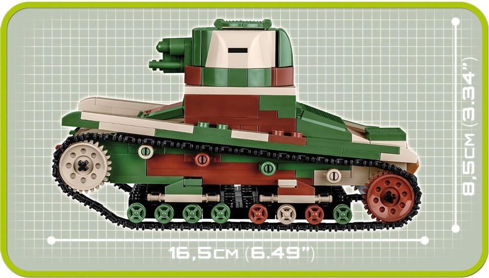 COBI #2520 ヴィッカース 6t Mark E Type B