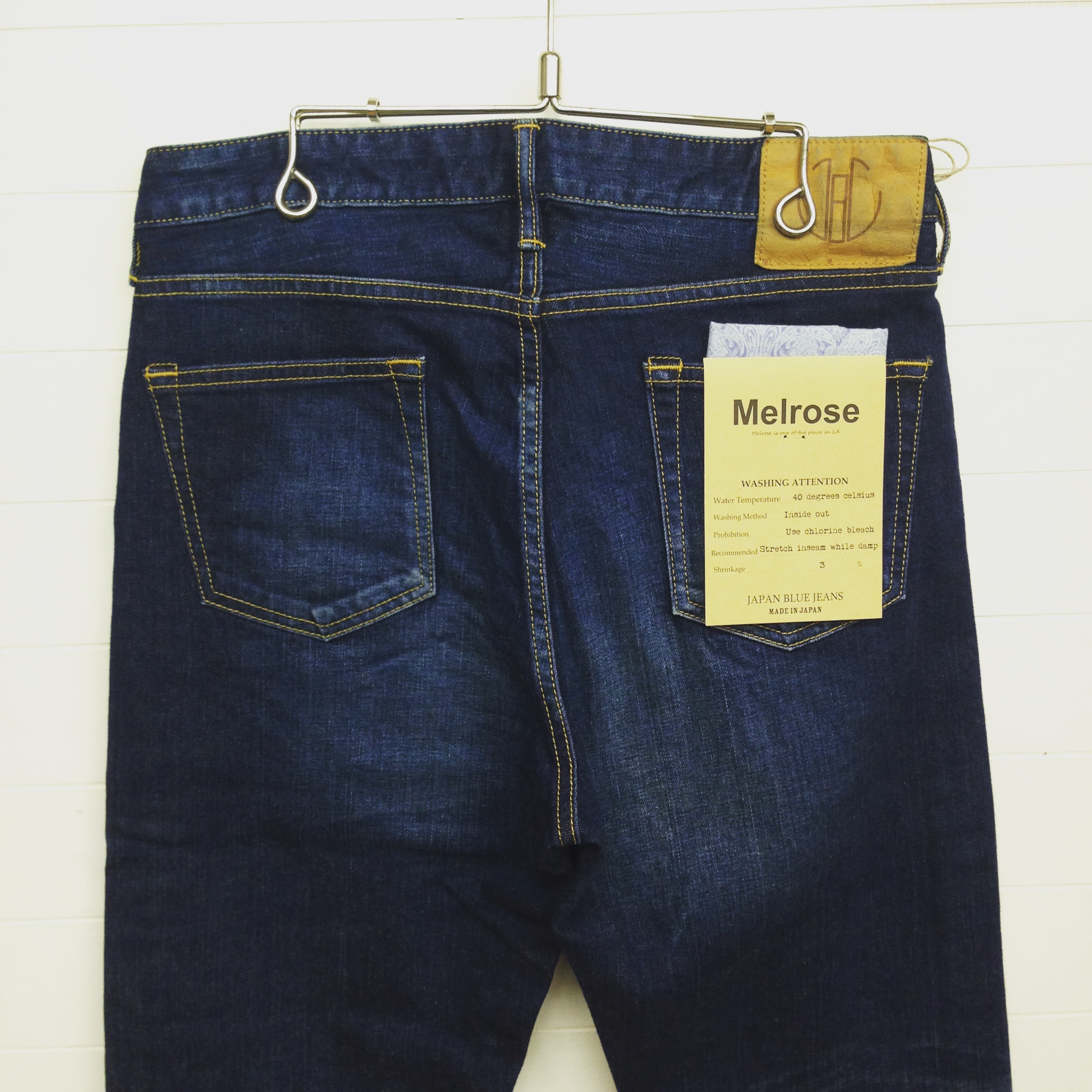 JAPAN BLUE JEANS(ジャパンブルージーンズ) 12.5oz PREP DENIM 12oz CALIF DENIM MELROSE JB2301ME