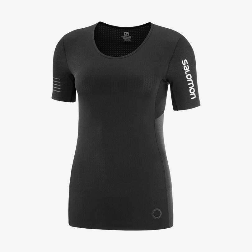 Salomon サロモン S/LAB NSO TEE W BLACK ウィメンズ/レディース S/LAB エスラブ NSO Tシャツ ブラック LC1511200