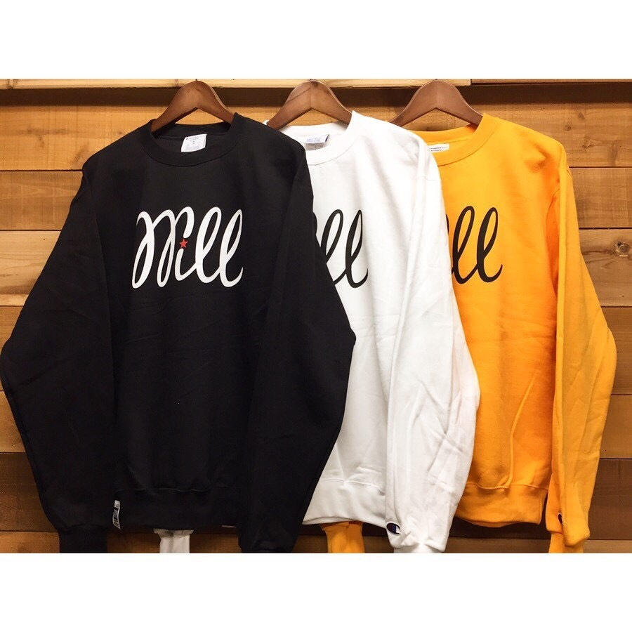 WILL BASIC LOGO CREW SWEAT
