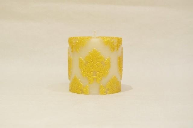 Orchid Small Pillar/Gold