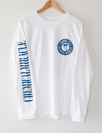 【TROPHY EYES】Chemical Miracle  Long Sleeve (White)