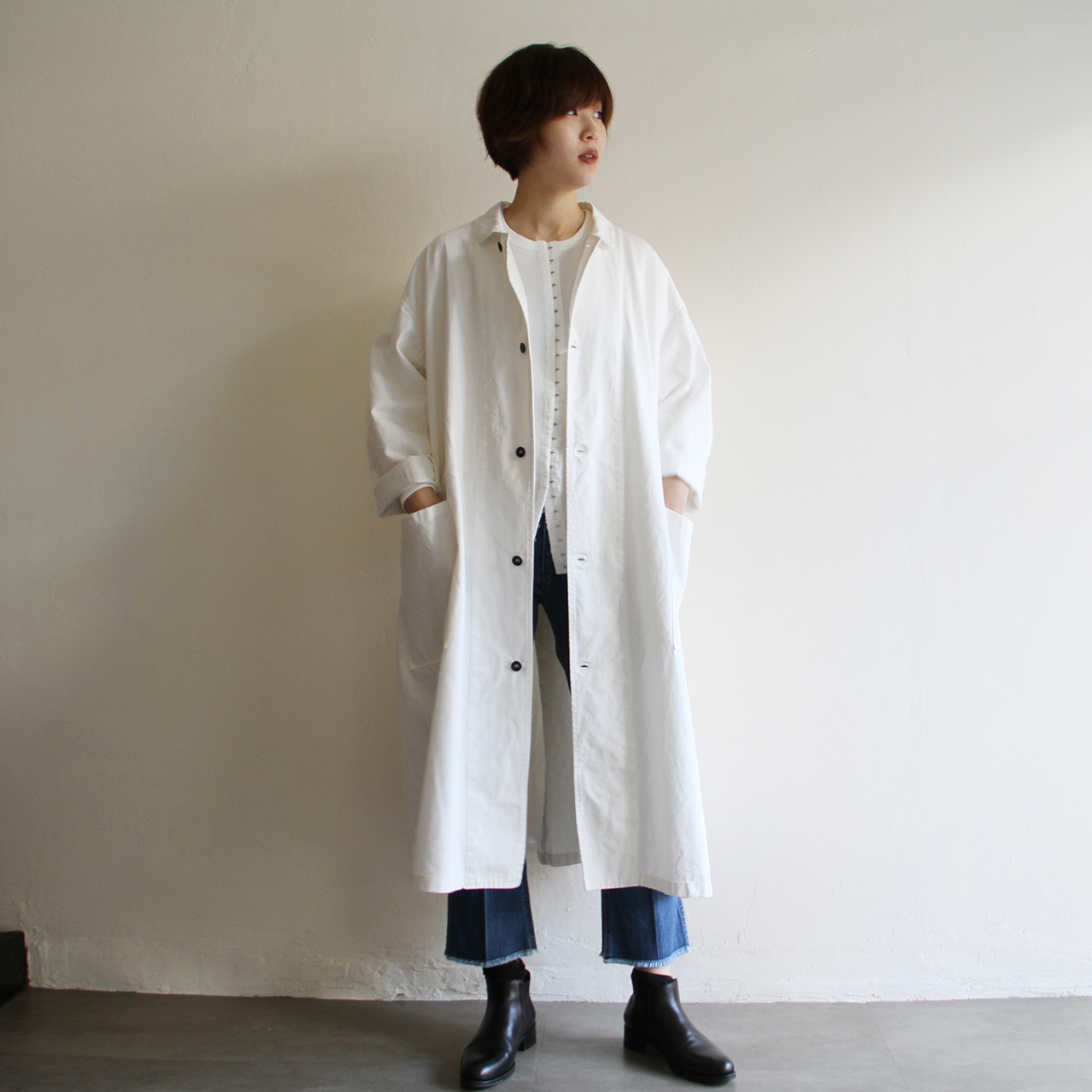 Yarmo【 womens 】lab coat