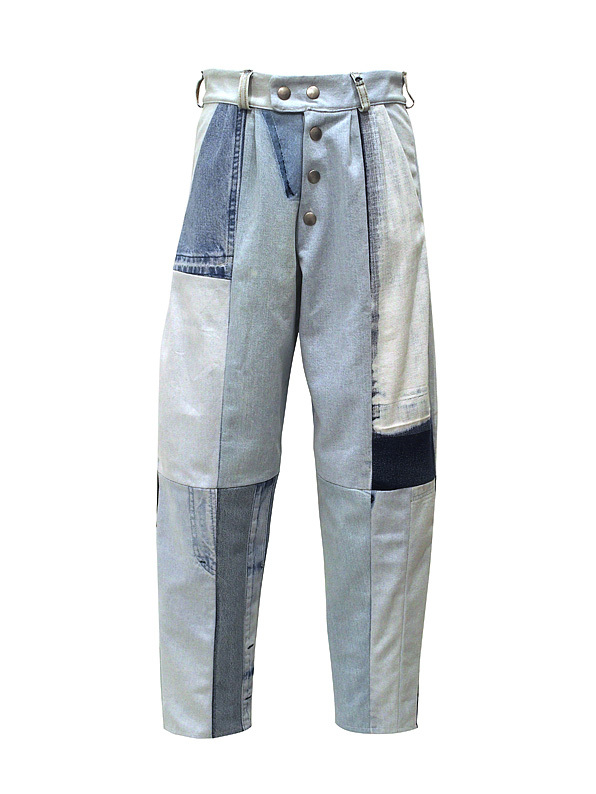 FADE OUT Label / COBALTO Trousers / Light Blue