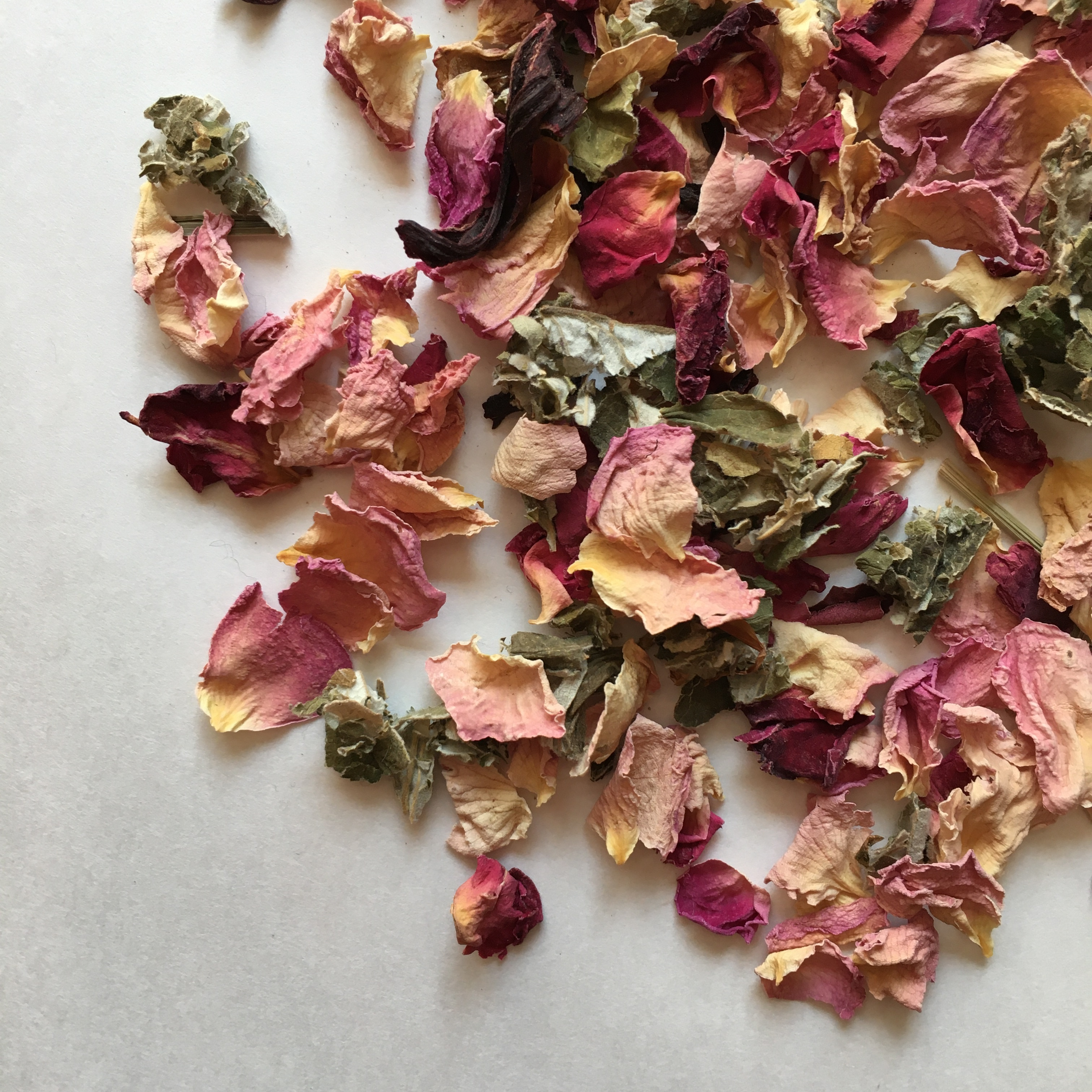 """"""" FROM NOW ON... herbal tea オーガニックハーブティー / Pink & Red Roases 30g  """""""