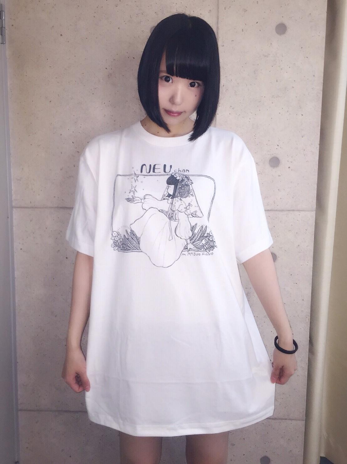 松尾モノ×ねうちゃんTシャツ