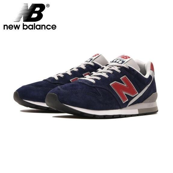 ニューバランス 996 スニーカー CM996 ネイビー 新作 NEW BALANCE CM996PSN NAVY/RED