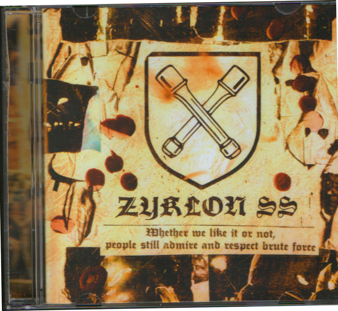 ZYKLON SS - Nigger torture chamber CD - 画像1