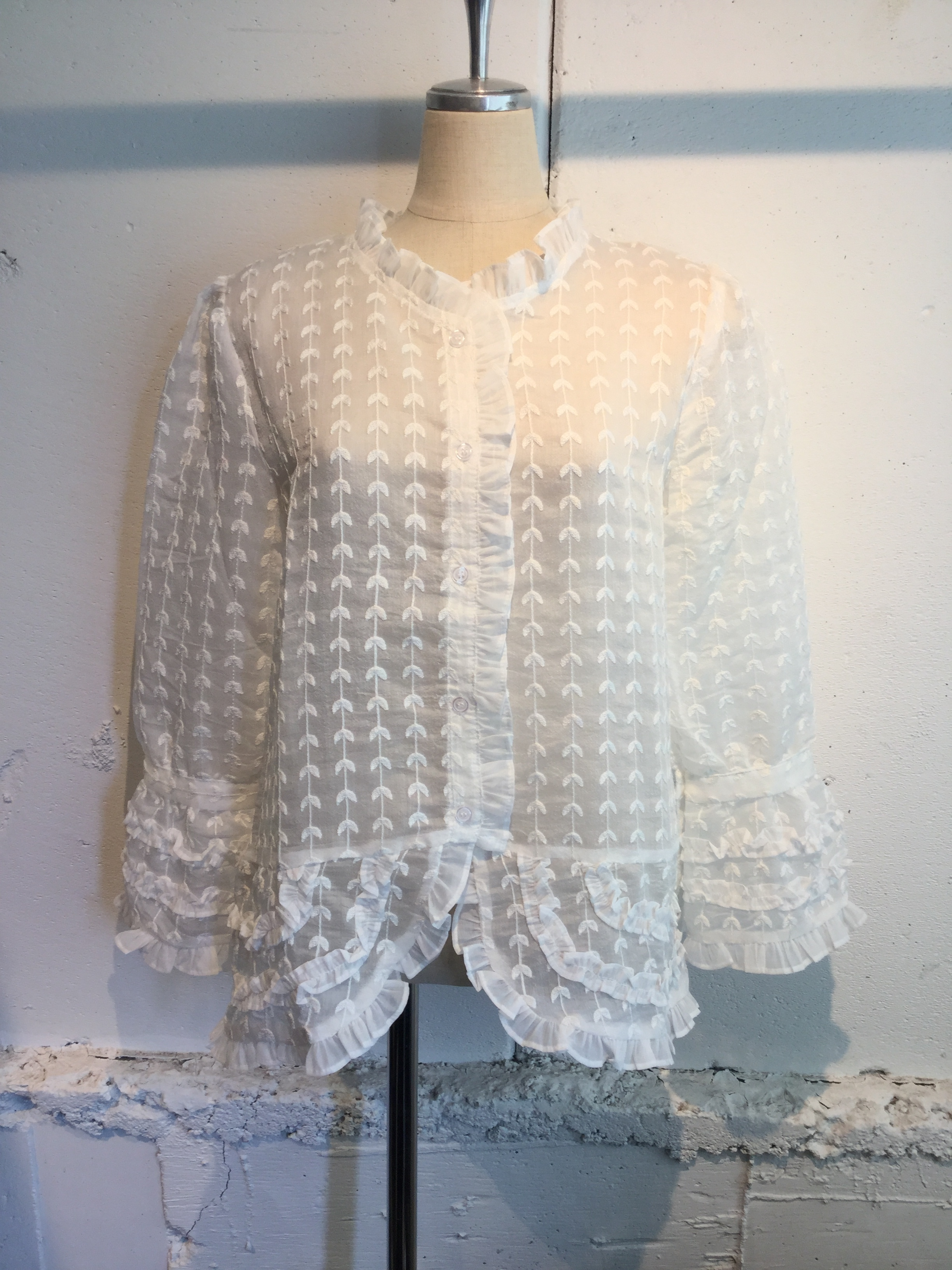 Sister Jane Anemone Embroidered Blouse