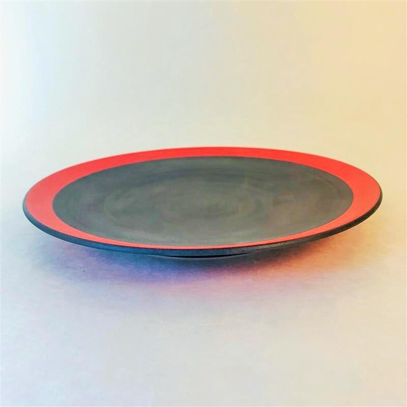沖誠3-3 赤8寸皿