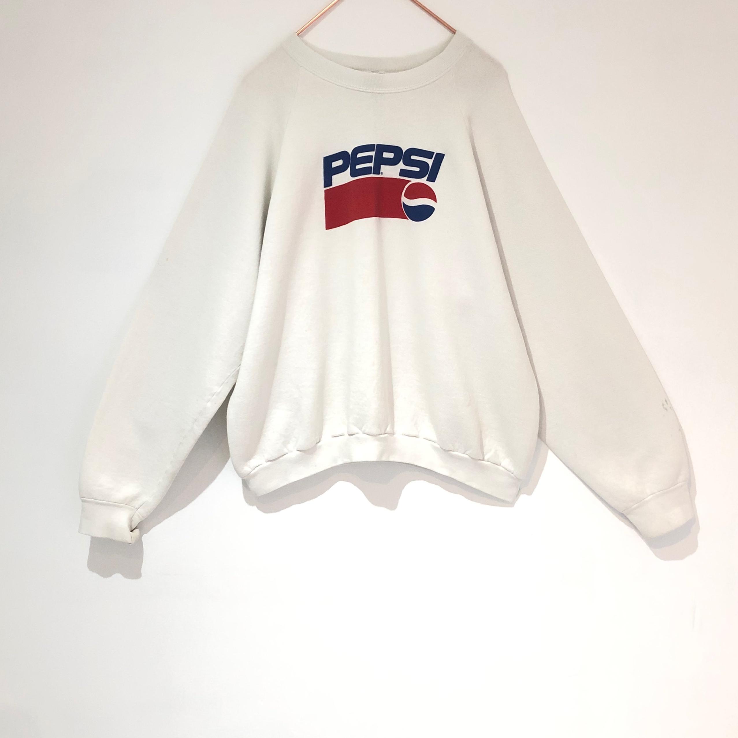 ◼︎80s vintage PEPSI print sweatshirt from U.S.A.◼︎