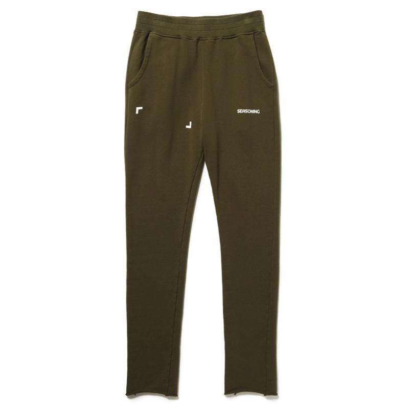 SEASONING × COLOR SWEAT PANTS - GREEN