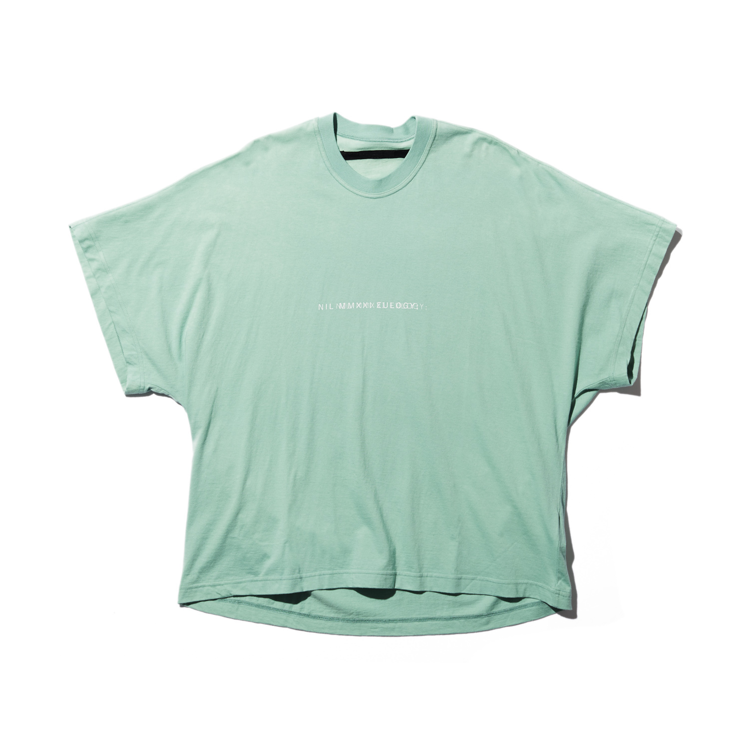 740CPM2-TURQUOISE / NILøS プリント Tシャツ ver.2