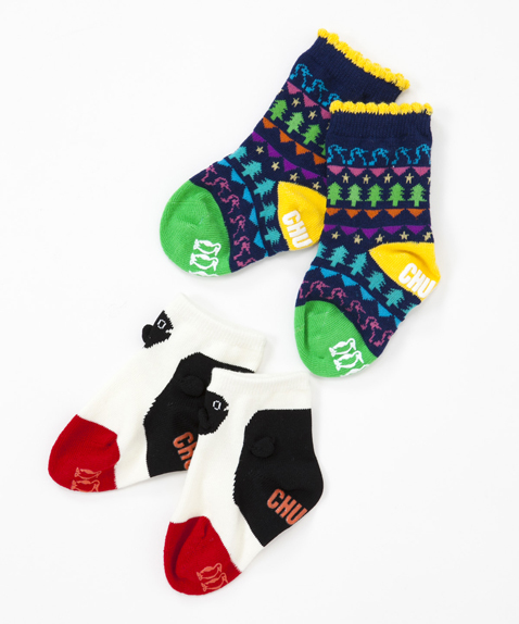 CHUMS(チャムス) Baby Booby Socks(ベイビーブービーソックス) B set
