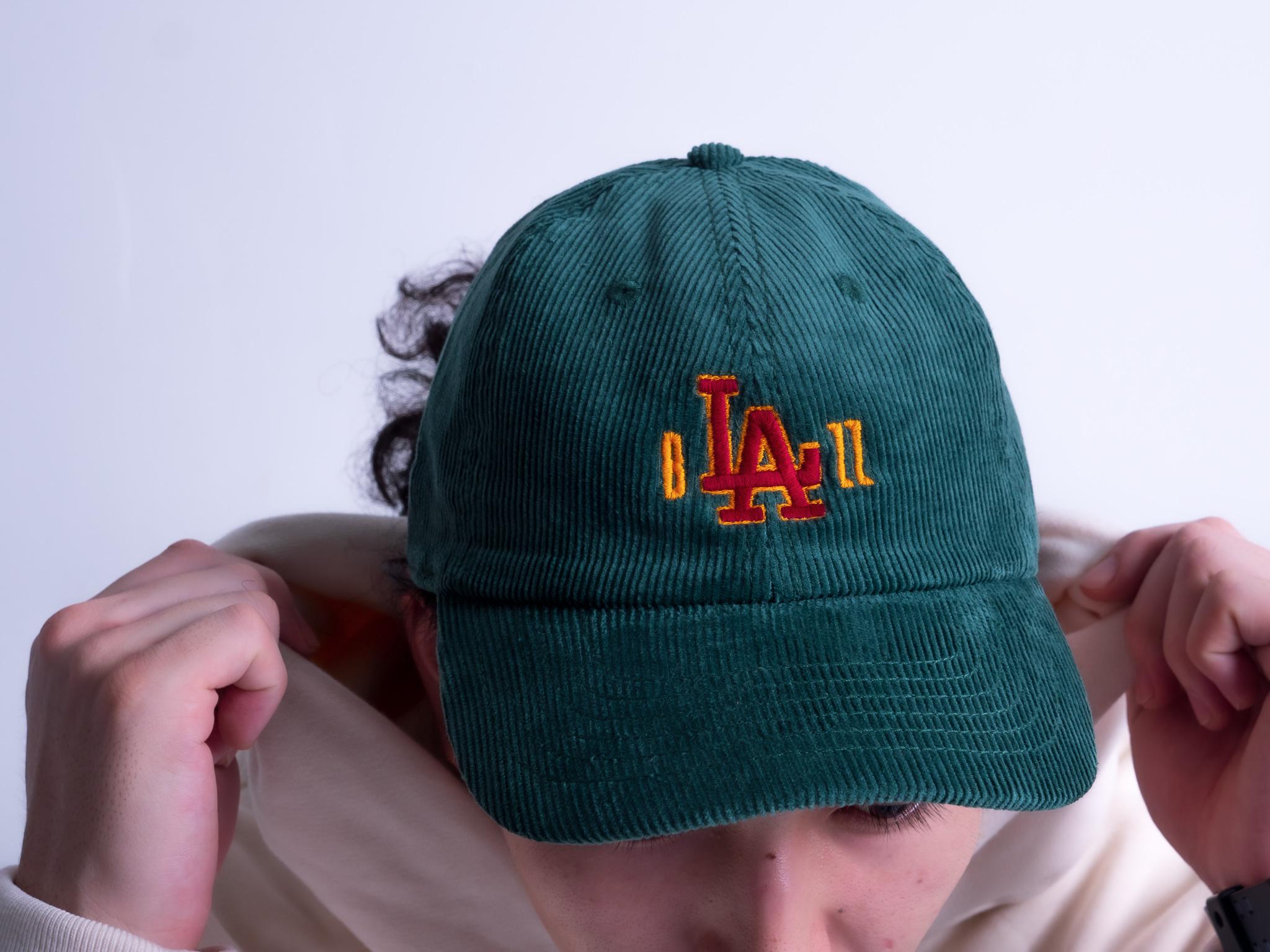 b'LA'zz Corduroy Cap [GREEN]