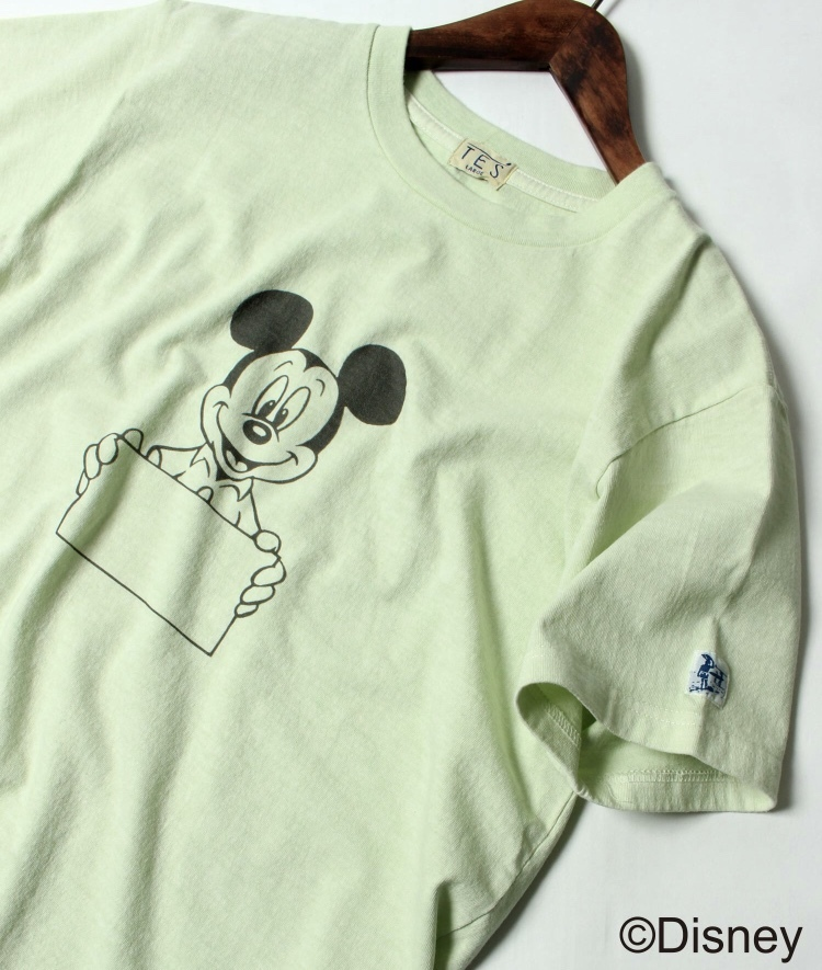 TES  DISNEY for TES SPECIAL EDITION PIGMENT SIGN TEE