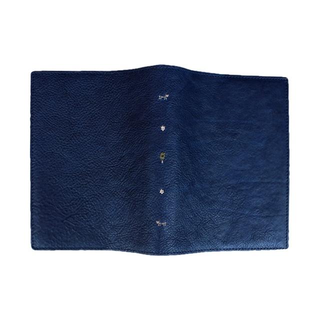 ブックカバー 刺繍 文庫サイズ
