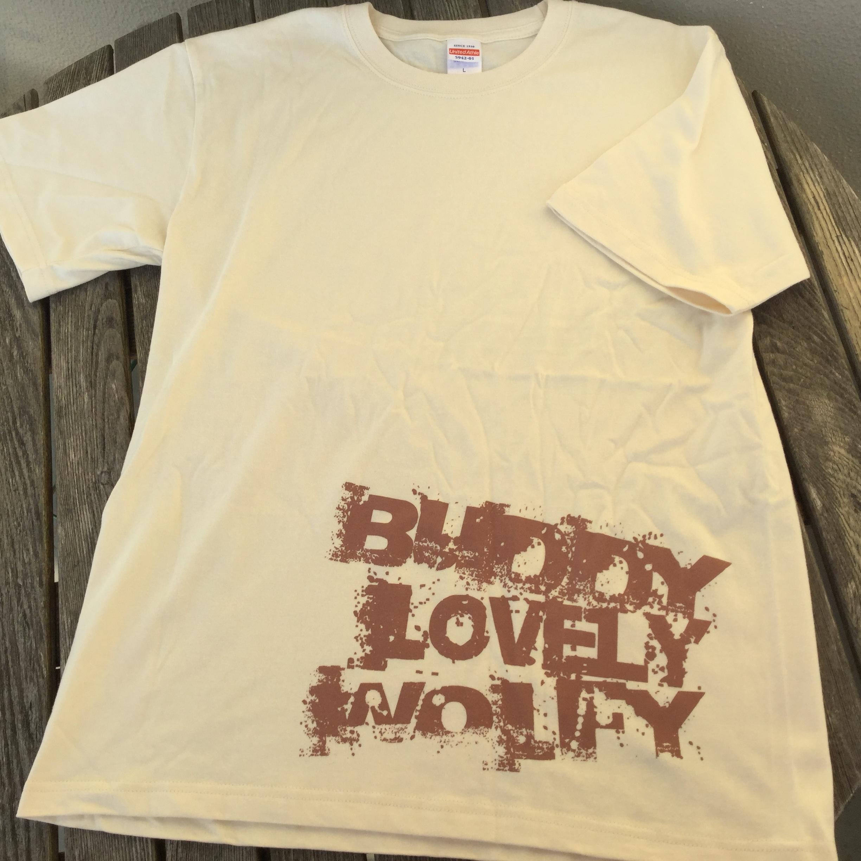 狼尻尾2.0 Buddy Tシャツ ナチュラル