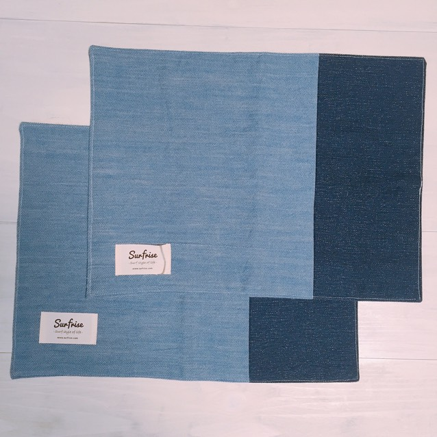 Denim lunch mat (2set) E2