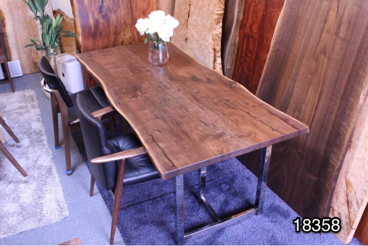 ウォールナット 無垢テーブル 1830×860×40 18358