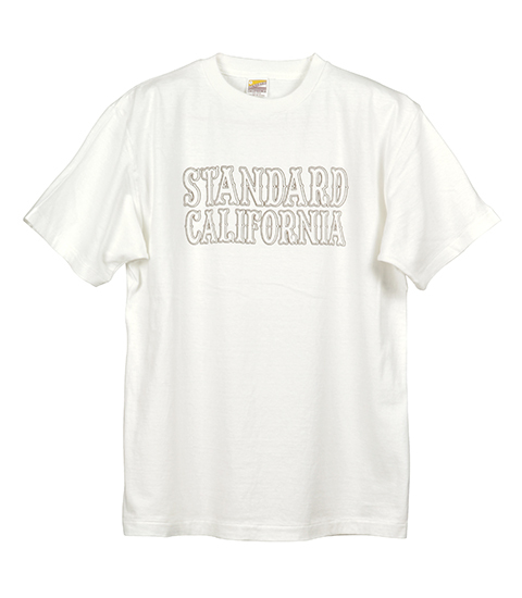 STANDARD CALIFORNIA #SD Basic Logo T