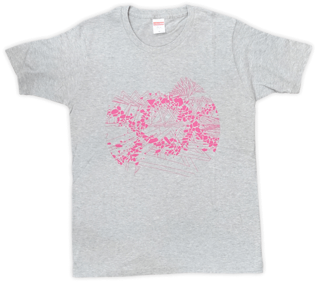 DUB SQUAD - MIRAGE Tシャツ(グレー) - 画像1