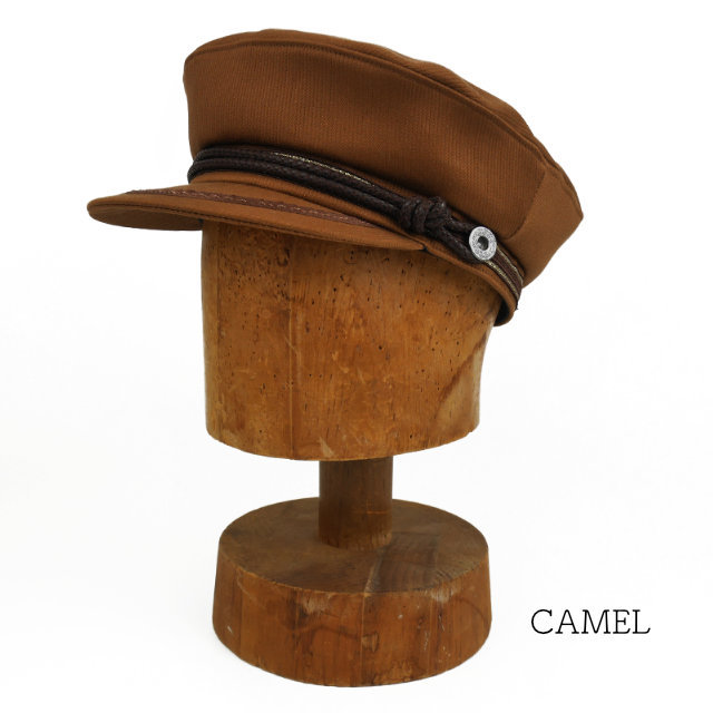 【TOP KNOT】 マリンキャップ リバプールハット 〈Camel〉