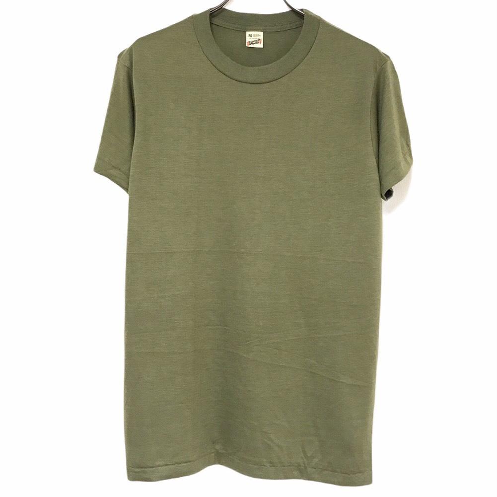 Dead Stock! 80's SCREEN STARS T-shirt made in USA Khaki
