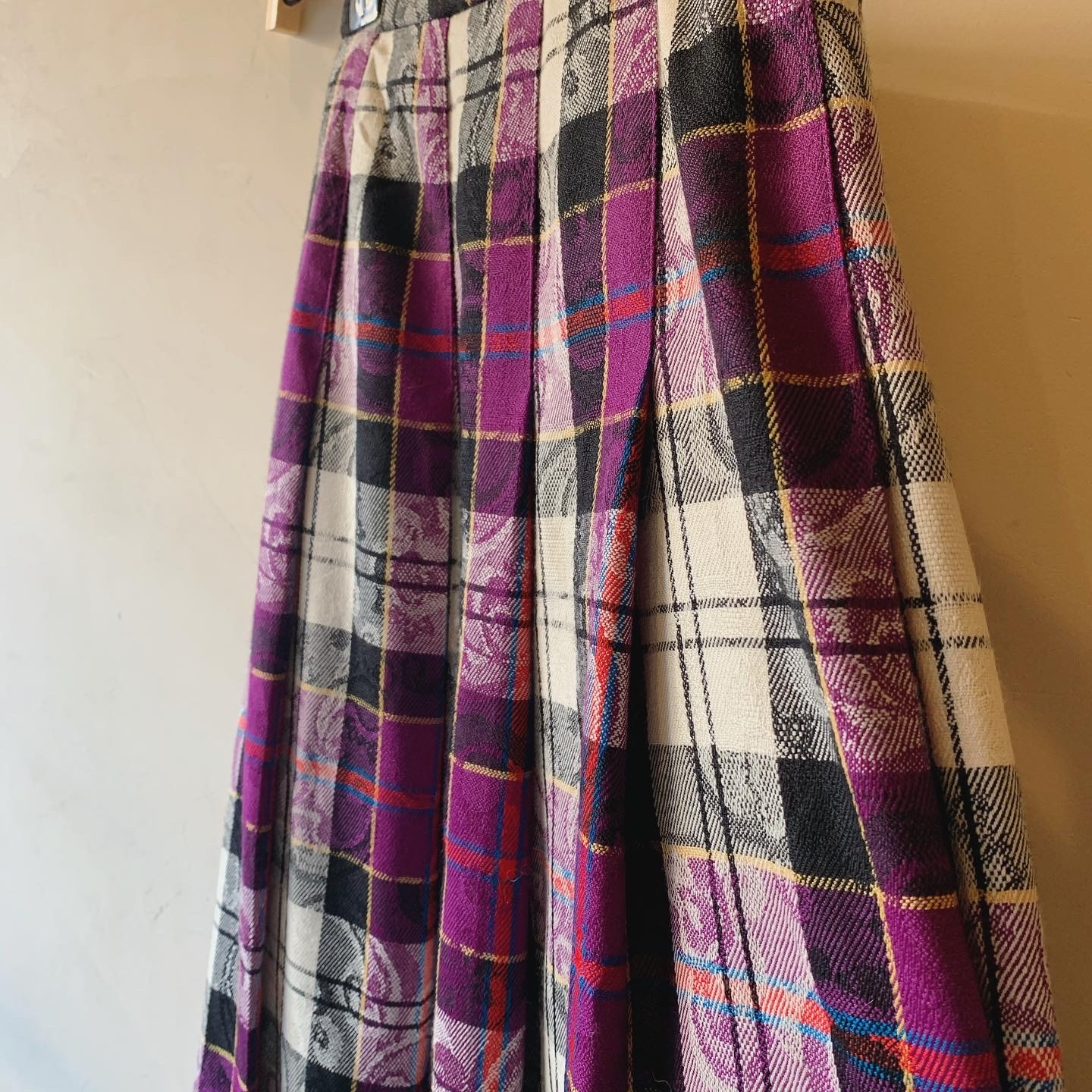 vintage pendleton wool skirt