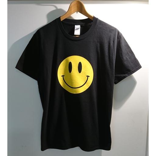 SMILE Tシャツ ブラック×イエロー