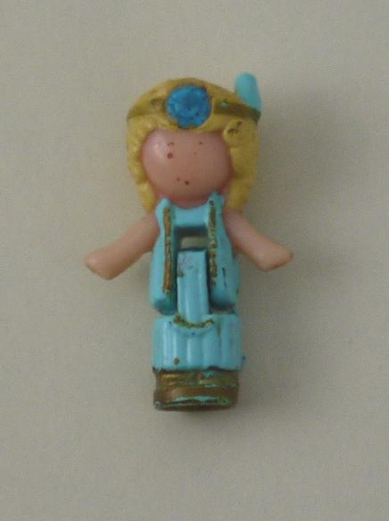 ドレスアップロケット・サファイアのネックレス 1992年 完品 レア!