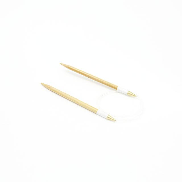 【竹製硬質】輪針 (コード長さ80cm 4号-15号)