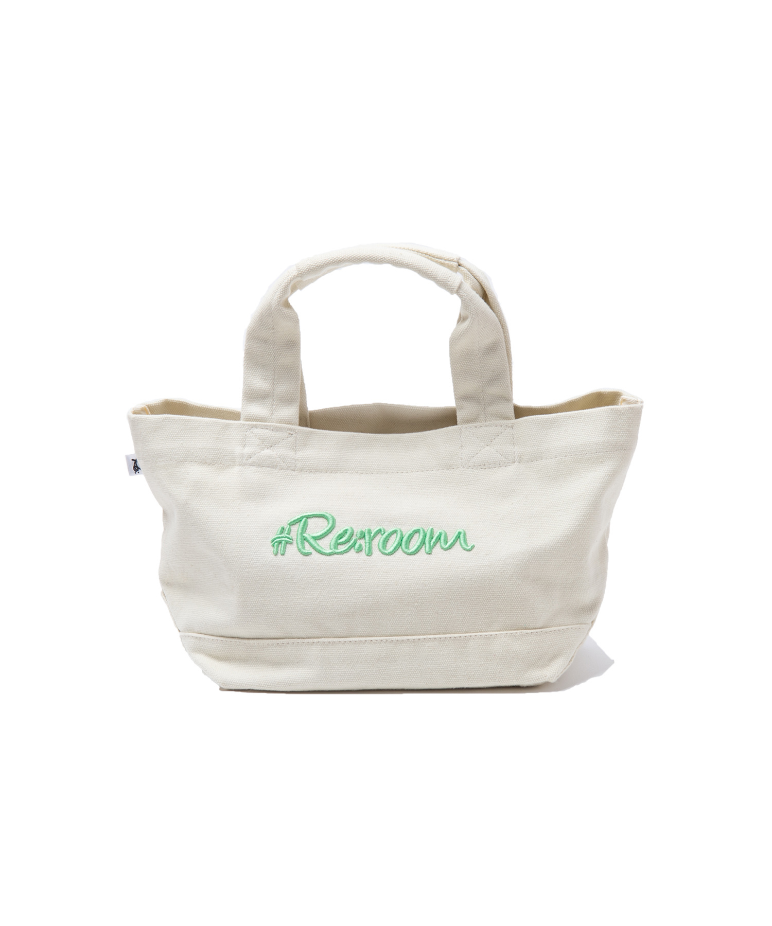 SUMMER COLOR 3D LOGO SMALL CANVAS  TOTE BAG[REB026]