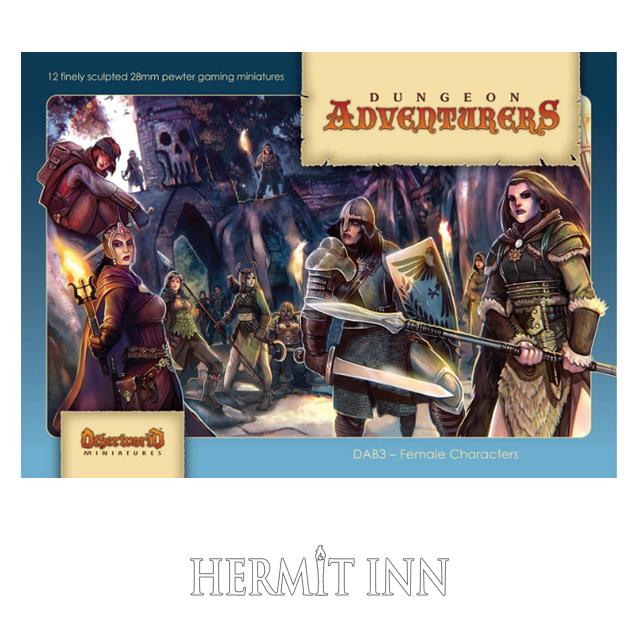 女冒険者たち(12体ボックスセット) - 画像1