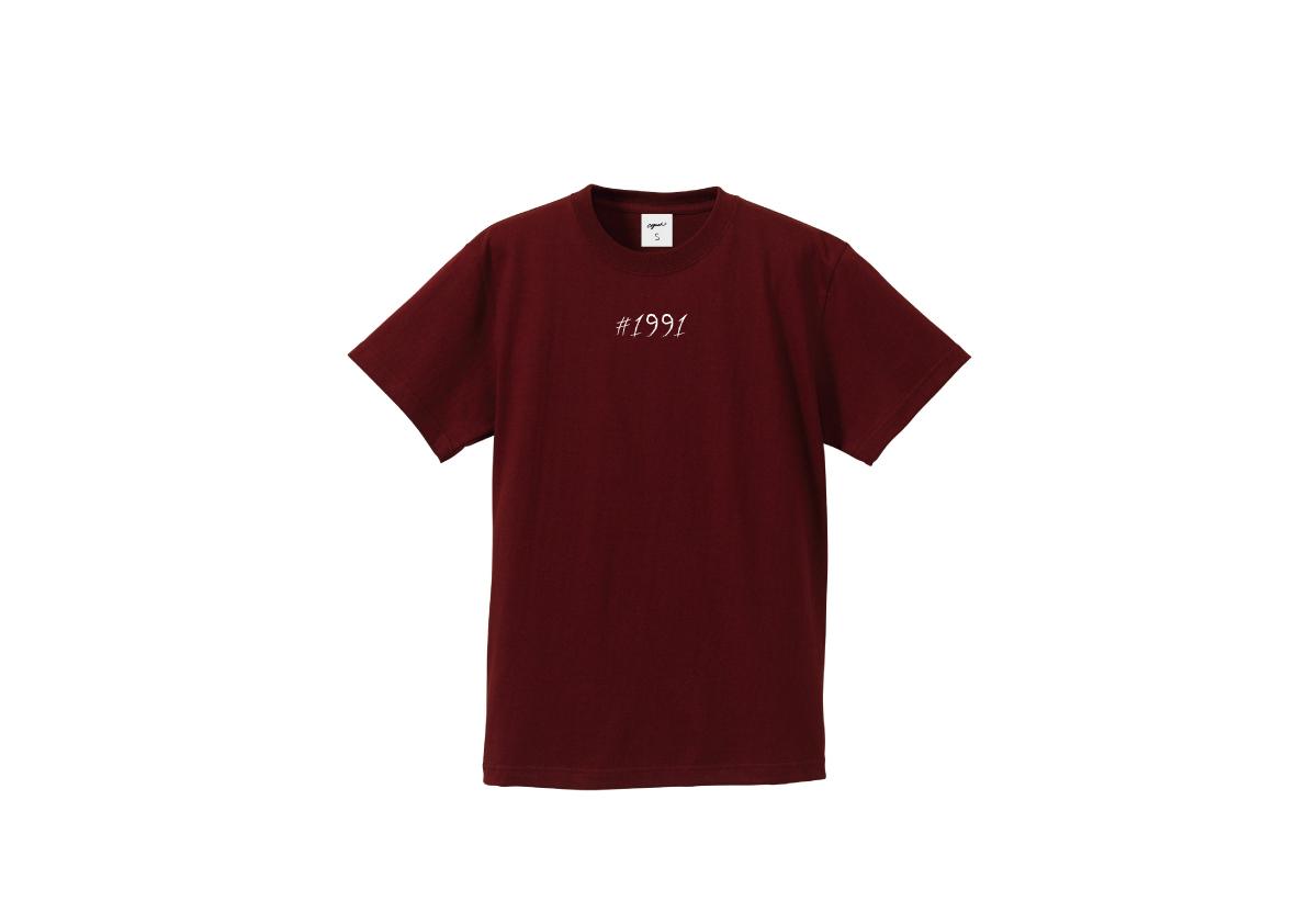 1991 T-shirt(brg/wht)