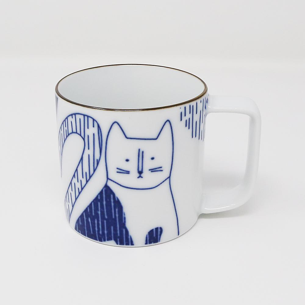 猫マグカップ(ニャンコいるって)