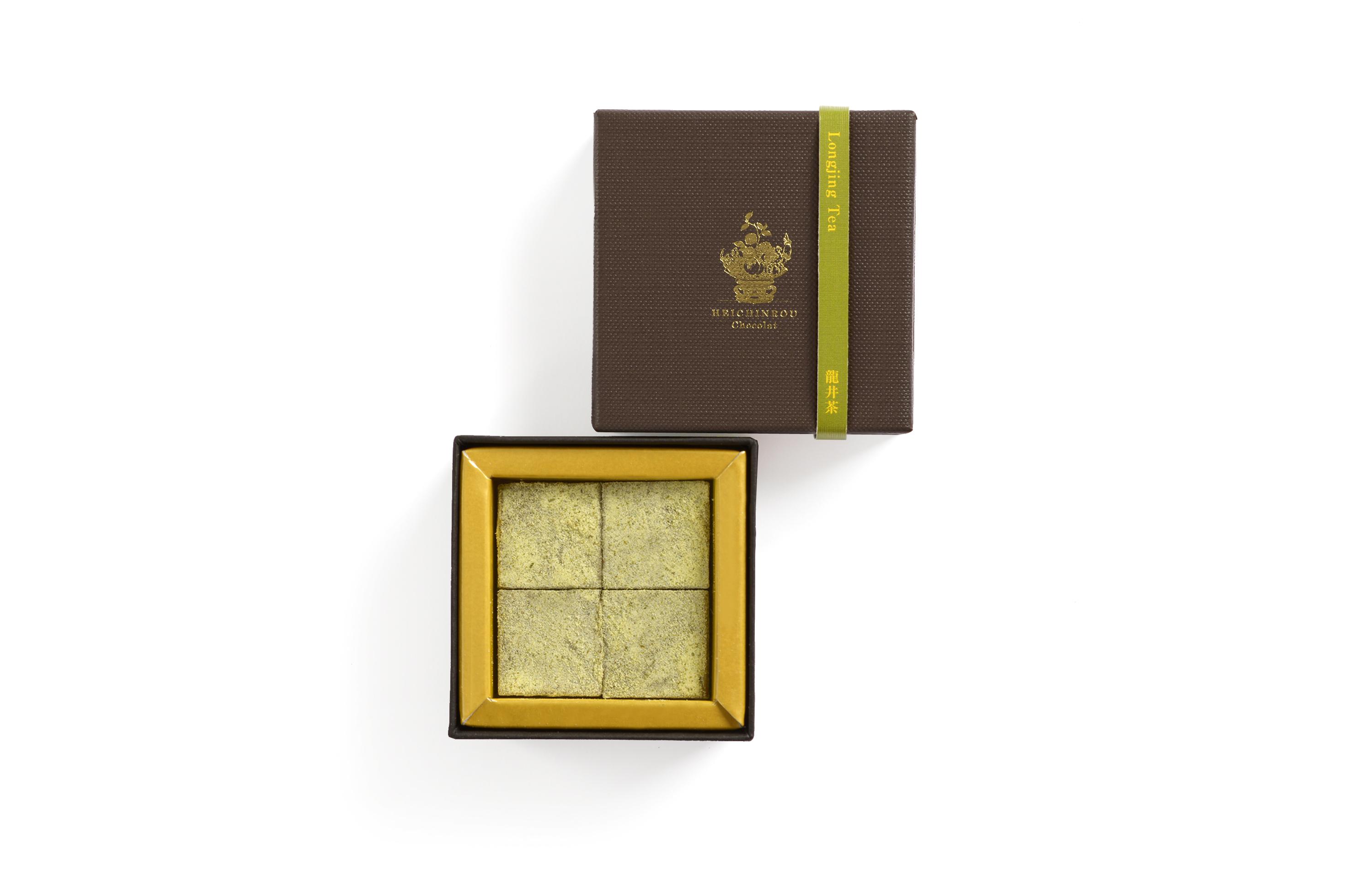 聘珍樓ショコラー龍井茶(4個)