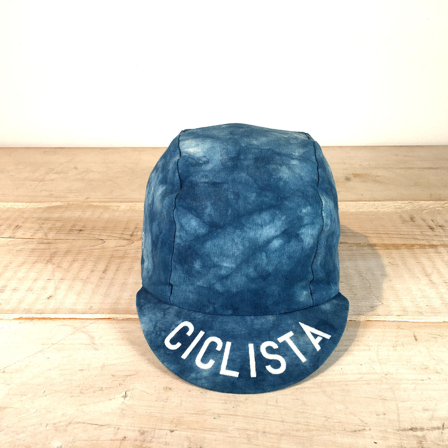 Natural indigo cycle cap Type-5