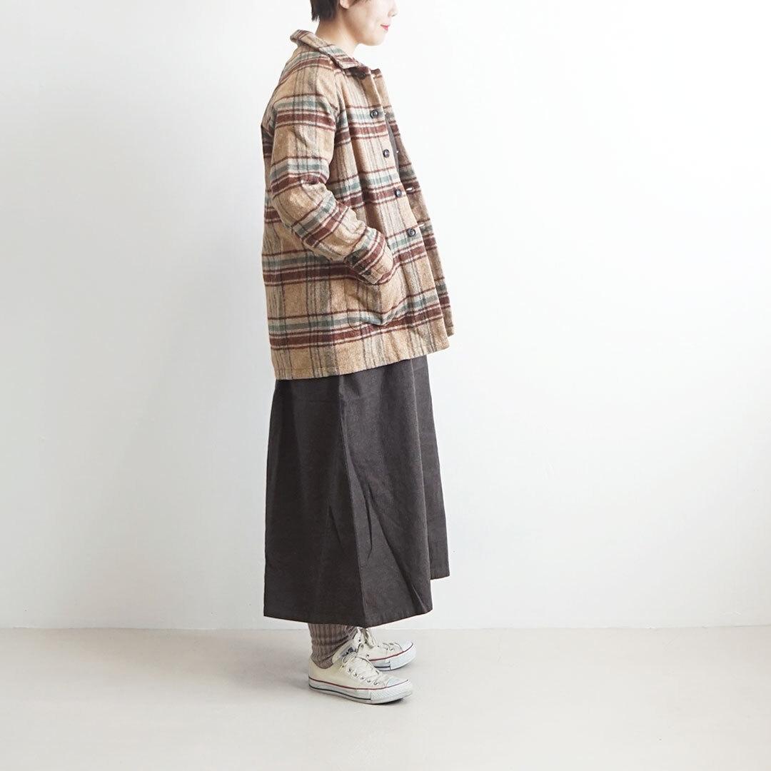 ichi イチ ネップチェックジャケット セットアップ 【返品交換不可】 (品番190626)