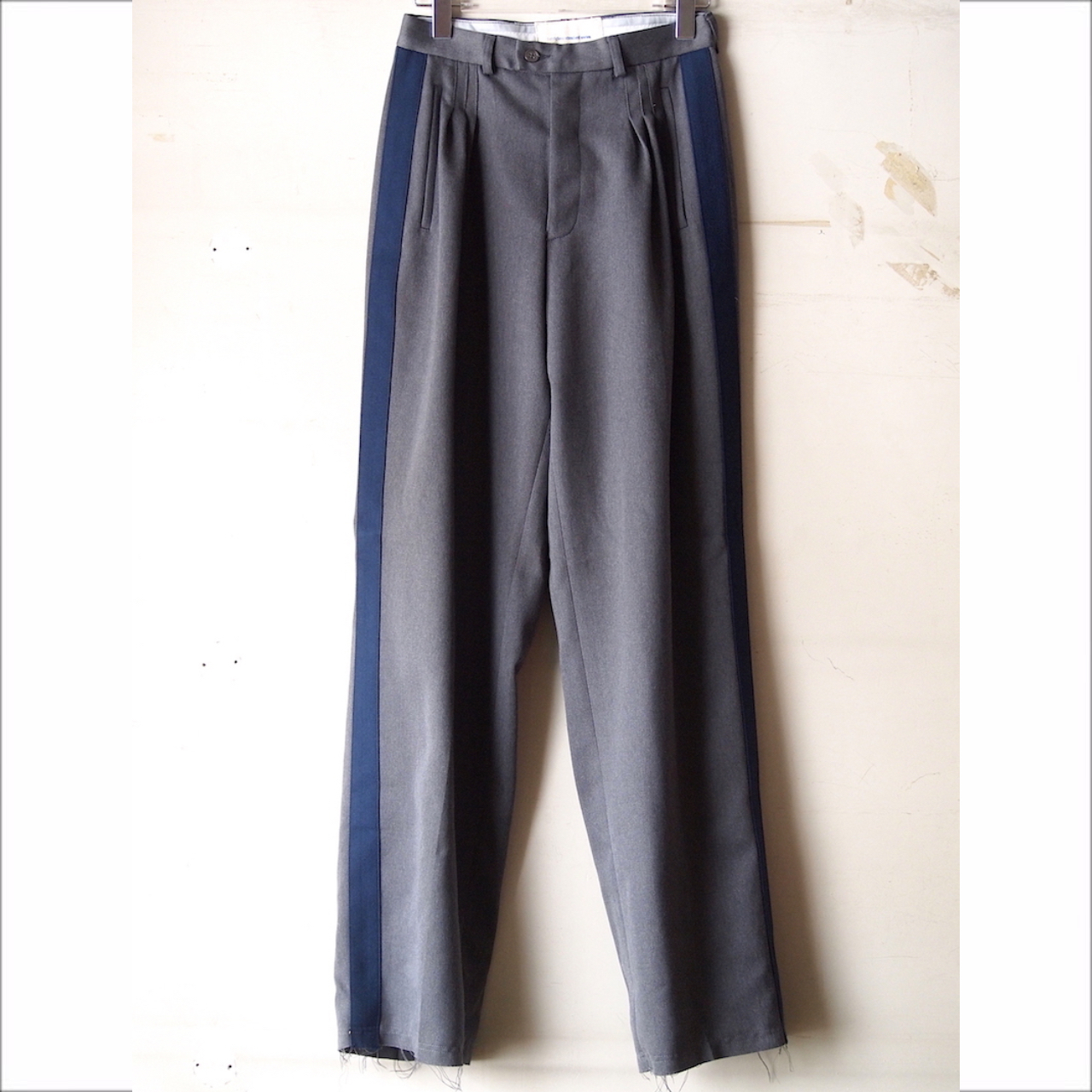 【sandglass】line tuck pants B / 【サンドグラス】ライン タック パンツ ビー