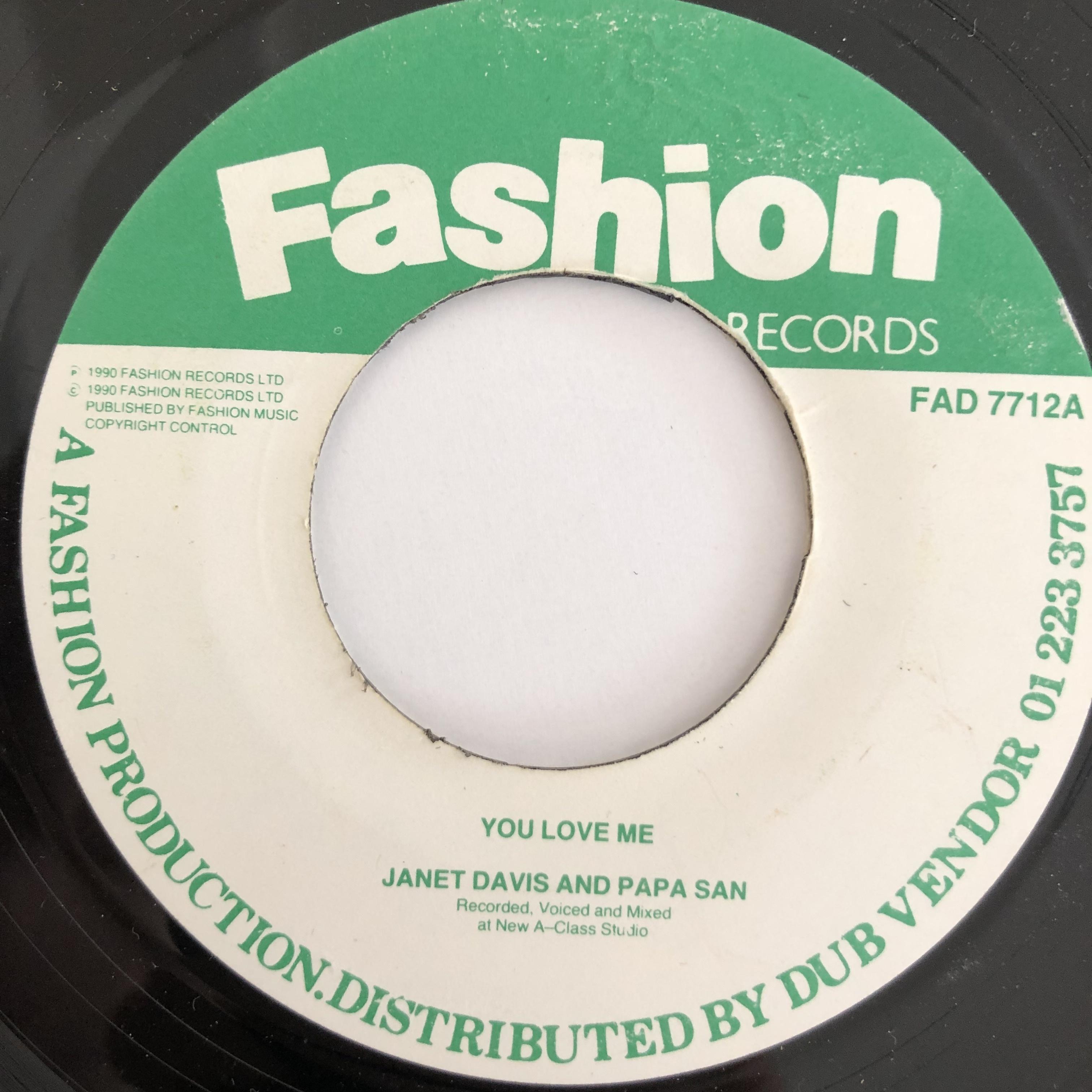 Janet Lee Davis and Papa San - You Love Me【7-20099】