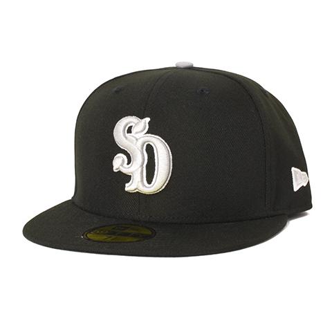 STANDARD CALIFORNIA #NEW ERA × SD 59Fifty Logo Cap Black