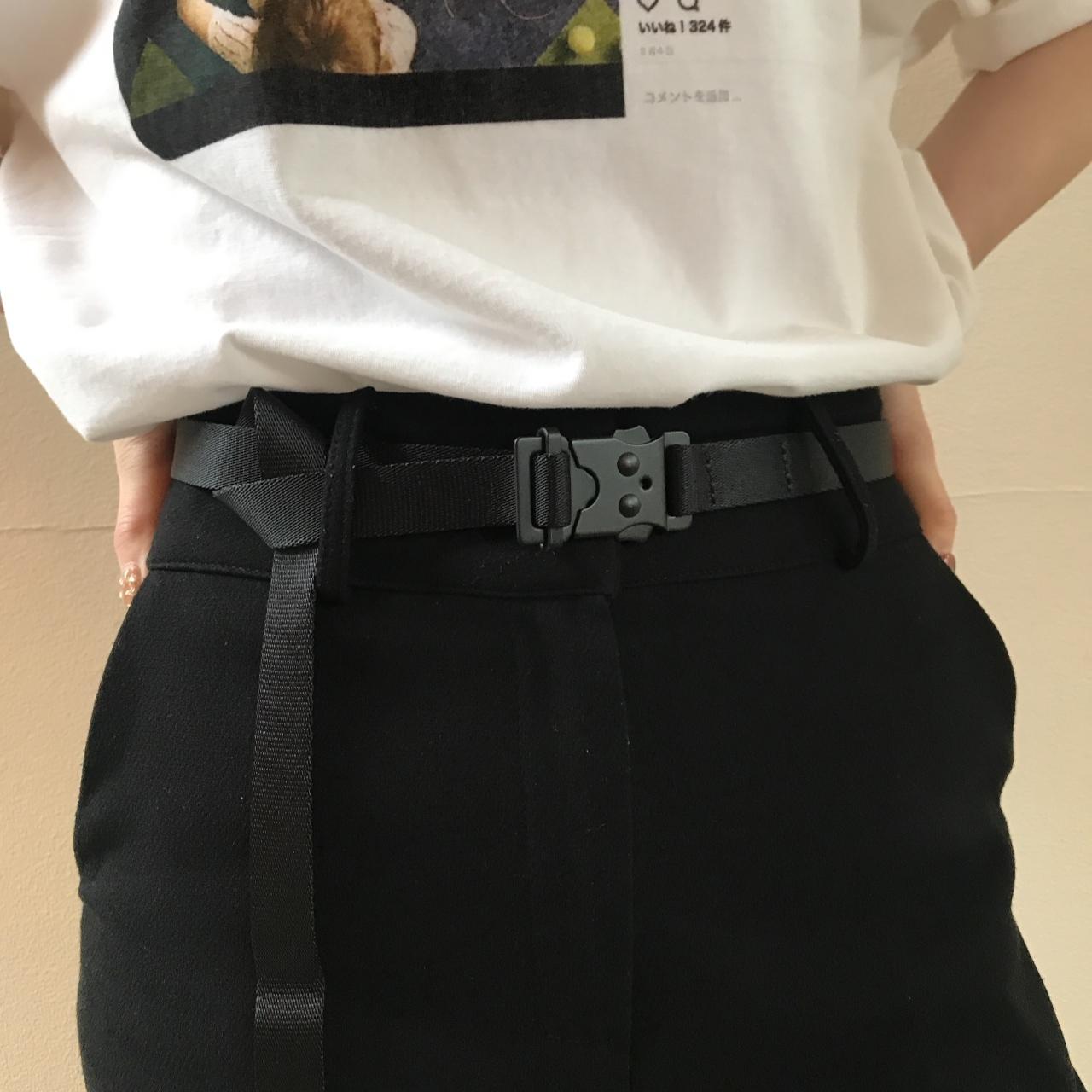 hobo - Nylon Tape Belt With  Iron Buckle